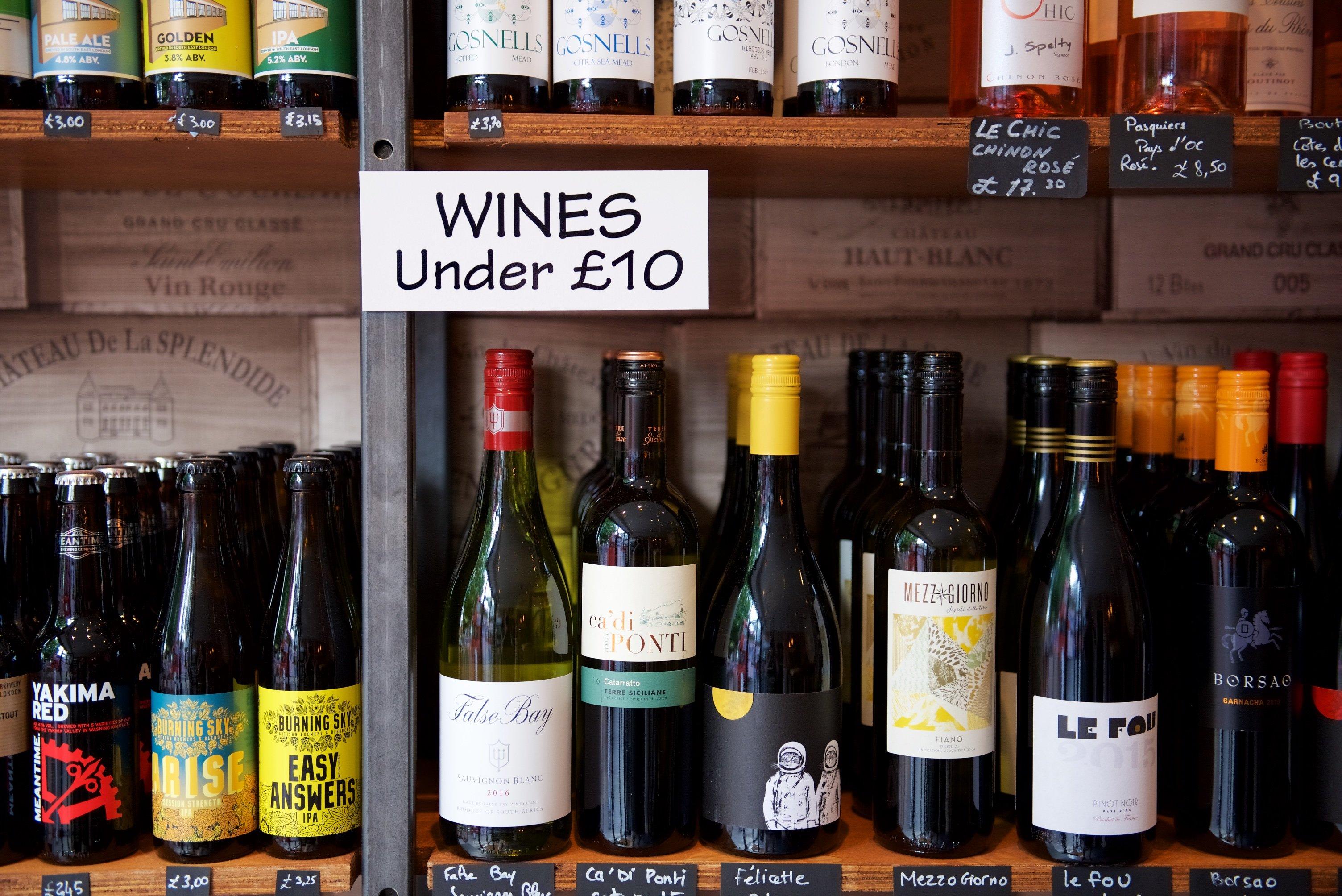 BOB Wines - Tulse Hill Shop Wine Beer