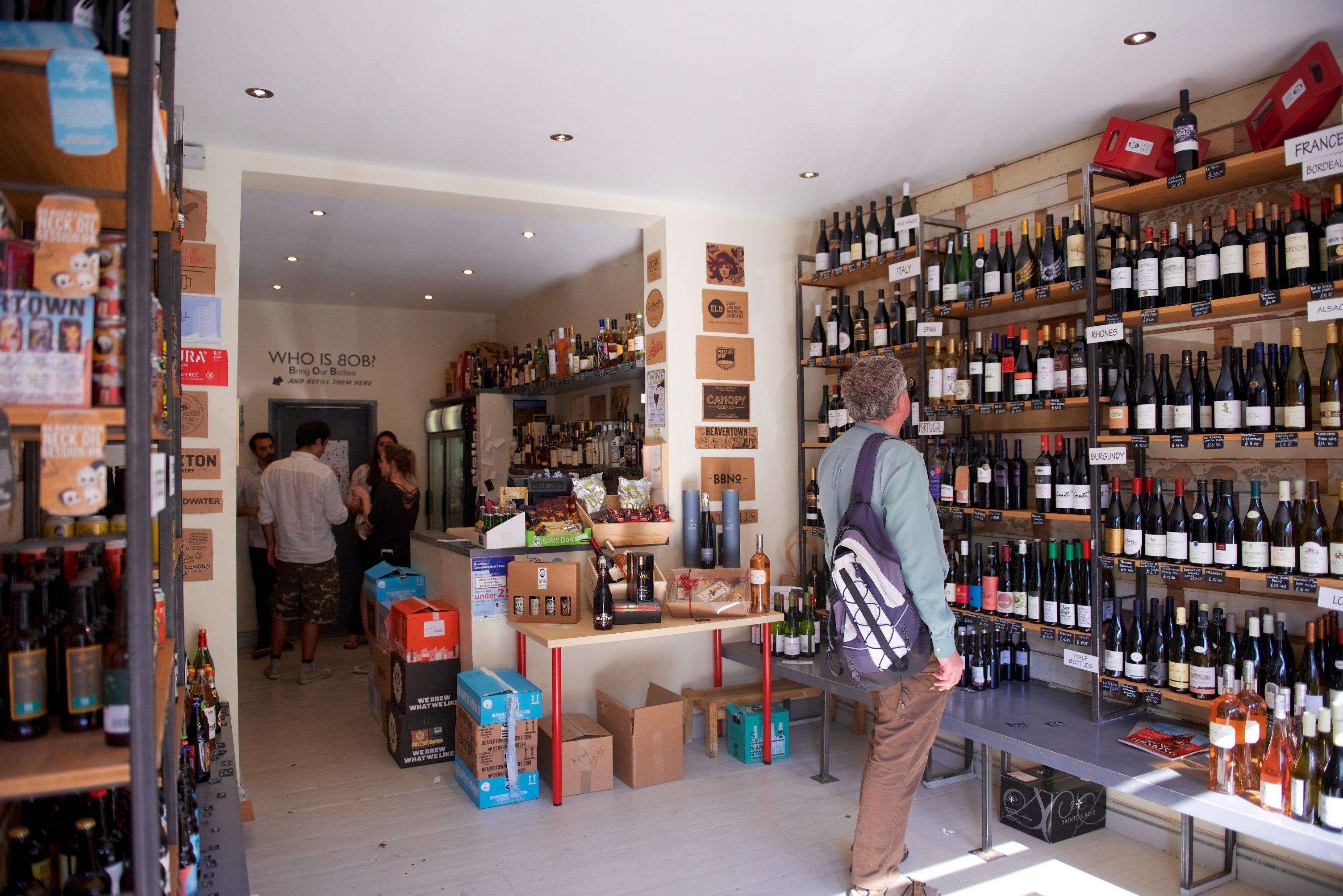 BOB Wines - Crystal Palace Shop Wine Beer
